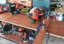 DIY โต๊ะเครื่องมือช่าง